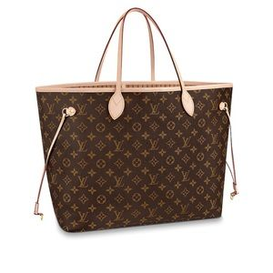Louis Vuitton Neverfull GM with Wristlet
